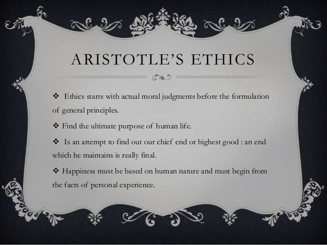 understanding aristotles notion of virtue Since the christian notion of aristotle's understanding of in book ii aristotle establishes a definition of virtue based on a certain understanding of.