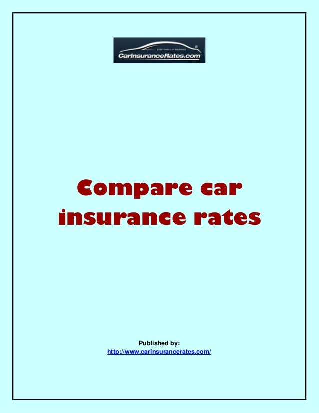 Car Insurance Rates Comparison Ontario  2017  2018 Best Cars Reviews