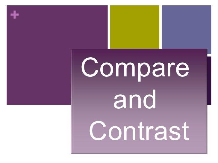 Comparecontrast