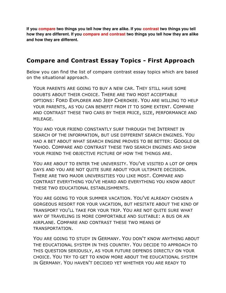 compare and contrast essay community college vs university