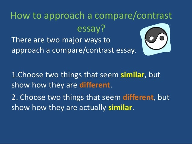 compare and contrast essay about best friends
