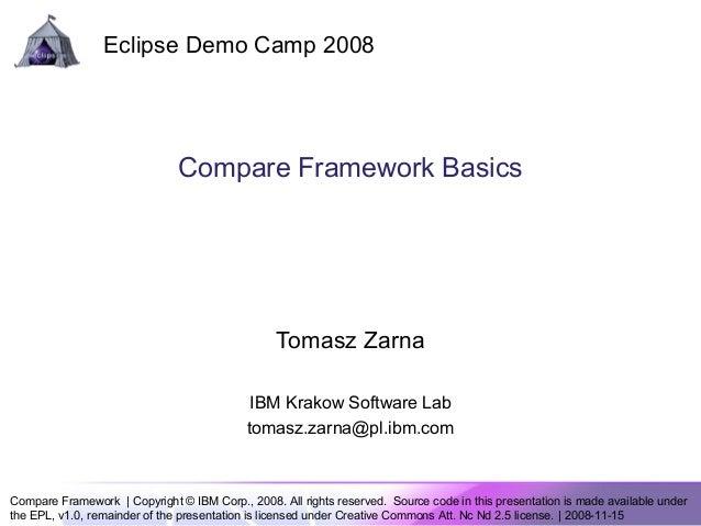 Compare framework