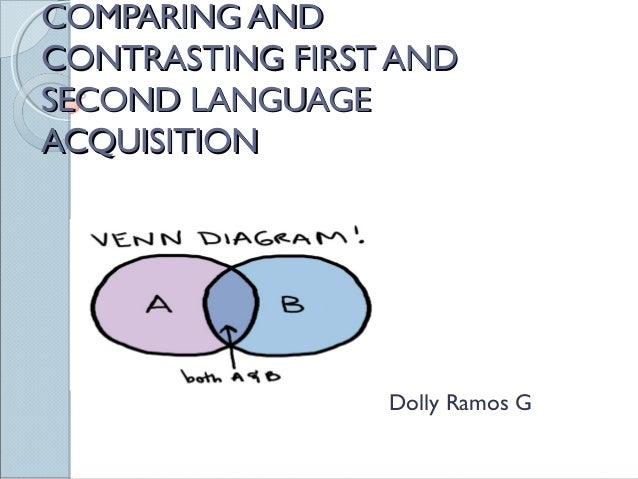essays on first language acquisition