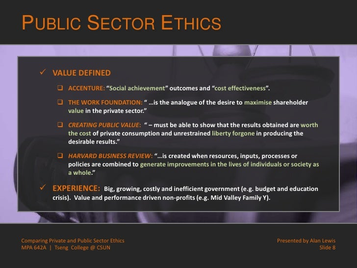public and private ethics The ethics of private practice helps mental health professionals understand the essential ethical issues related to the many challenges of being in independent practice.