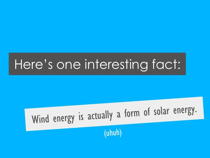 Comparing Wind Power And Other Renewable Energy Sources