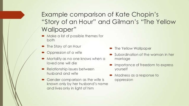 "summary of story of an hour essay On ""the story of an hour"" ""the story of an hour,"" a short story by kate chopin, details the events of the short hour when mrs mallard finds out her husband has died, only to see him walking through the door."