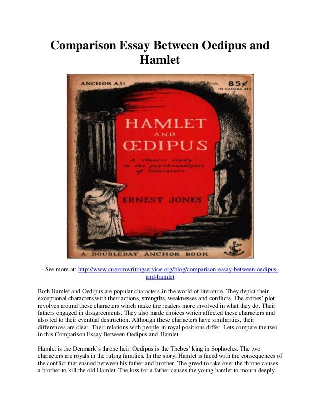 comparison of antigone vs hamlet Antigone and hamlet compared this 3 page paper explores similarities and differences in these two classic works compare & contrast papers paper examples.