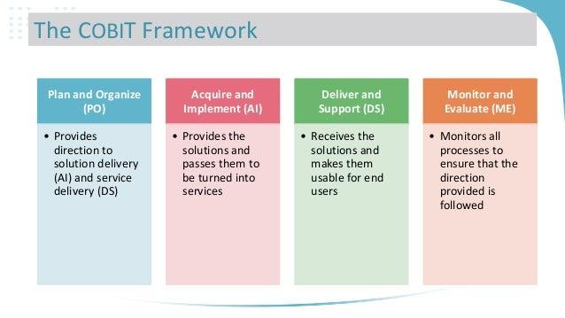 Comparison Of It Governance Framework Cobit Itil Bs7799