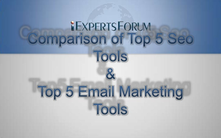 Top 5 SEO Tools
