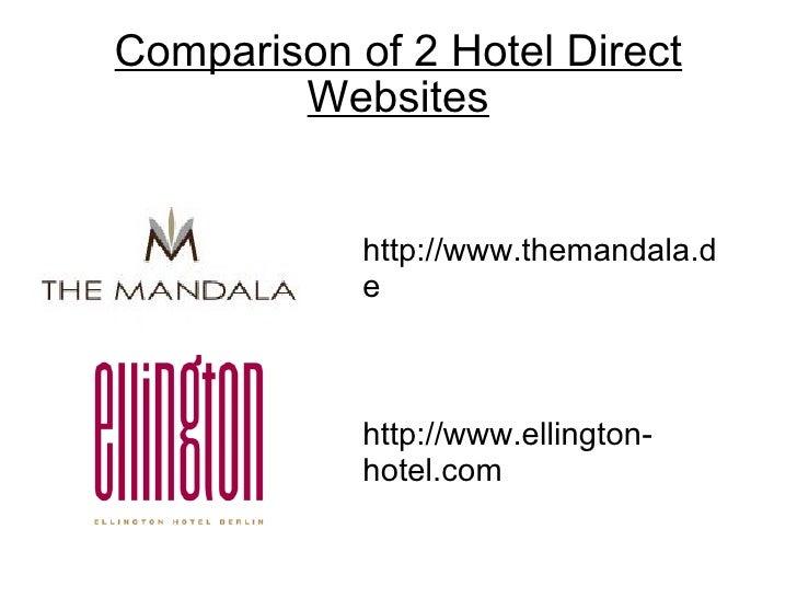 Comparisonwebsites