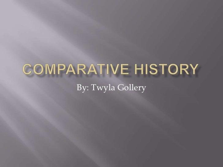 Comparitive history