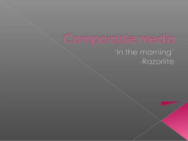  The video clip that I have chosen to analyse is 'In the morning' by Razorlite. I have chosen to use this as I like the w...