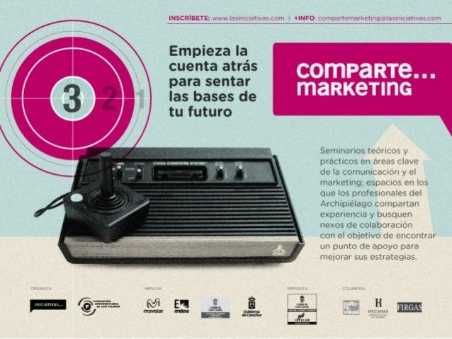Comparte marketing - Innovación en la comercialización y comunicación para PYMES del sector de la alimentación y la distribución - Pedro Hache