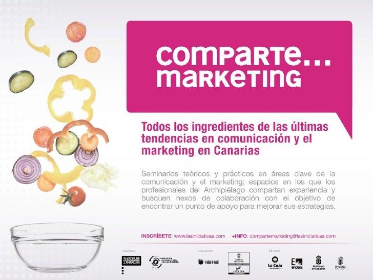 Comparte Marketing - Gestión del punto de venta - Octavio Marrero / Jonathan Pérez