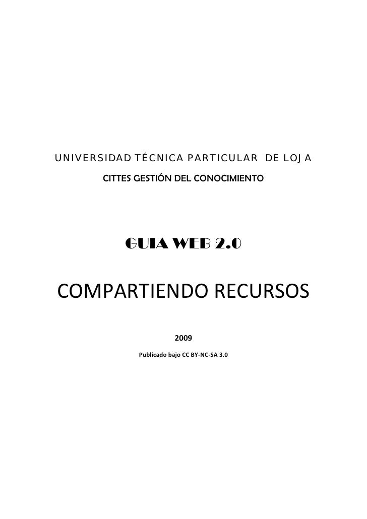 UTPL_COMPARTIENDO RECURSOS