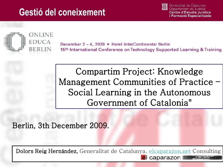 Compartim, Social learning, CP, KM project, OED09