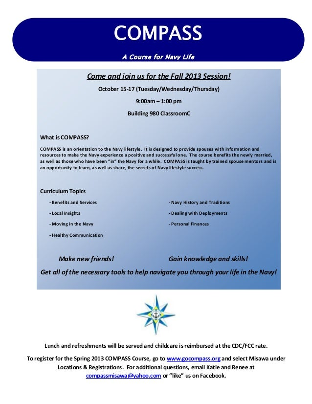 Lunch and refreshments will be served and childcare is reimbursed at the CDC/FCC rate. To register for the Spring 2013 COM...