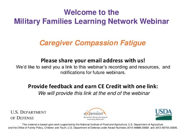 comvating campassion fatigue Recognising and combating compassion fatigue in nursing eyre says that programmes such as these, and employee assistance programmes, are important.