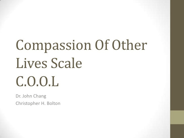Compassion presentation revised