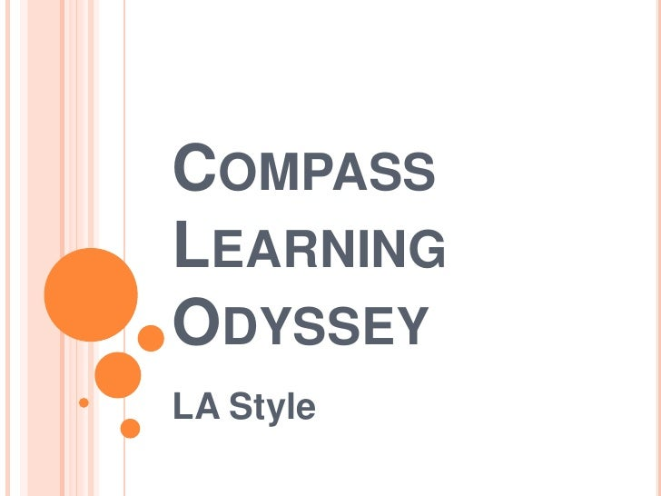 Compass Learning Odyssey<br />LA Style<br />