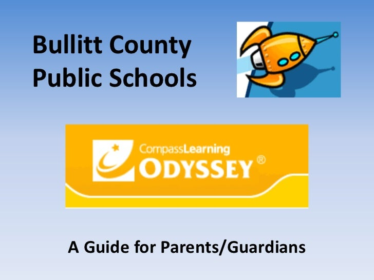 Compass learning odyssey_parent_presentation