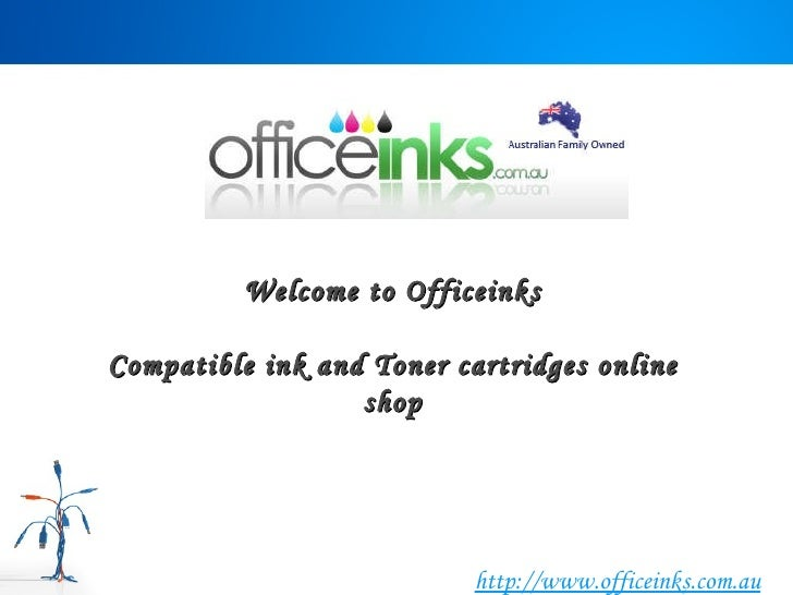 Welcome to Officeinks Compatible ink and Toner cartridges online shop http://www.officeinks.com.au