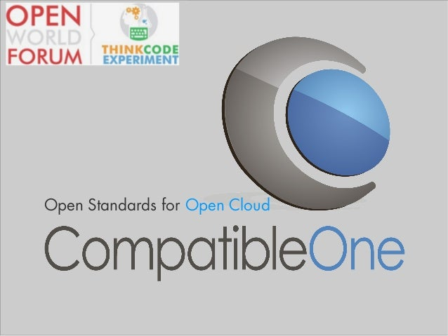 Open Standards for Open Cloud
