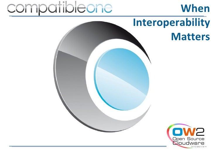 WhenInteroperability       Matters