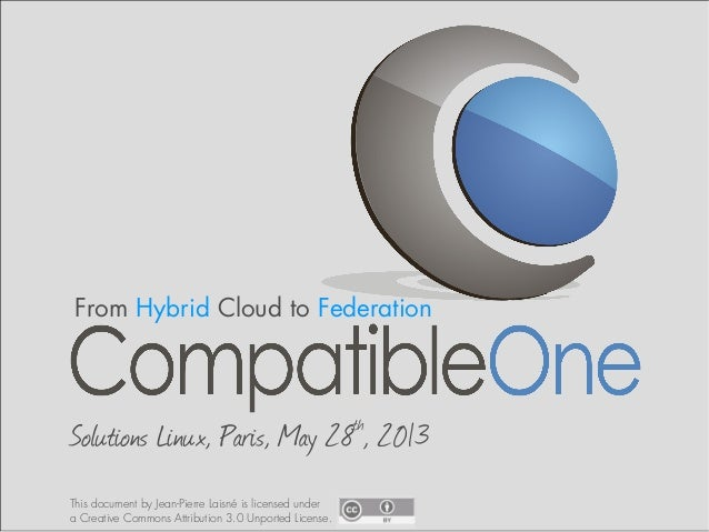 CompatibleOne Solutions Linux 28 May 2013