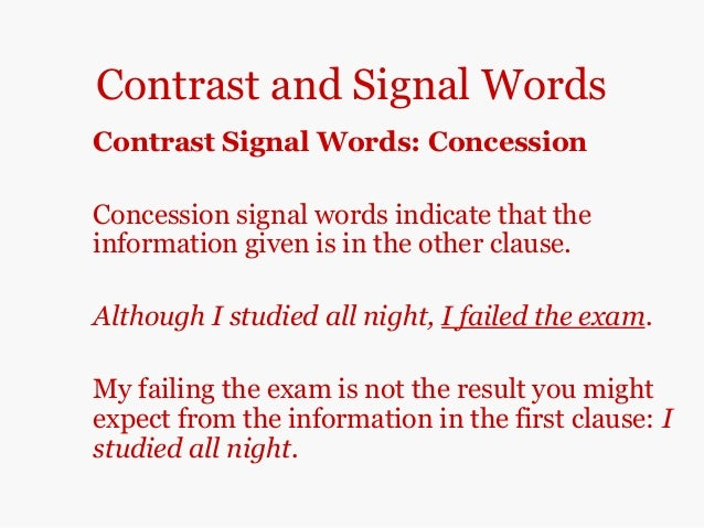 Comparison essays