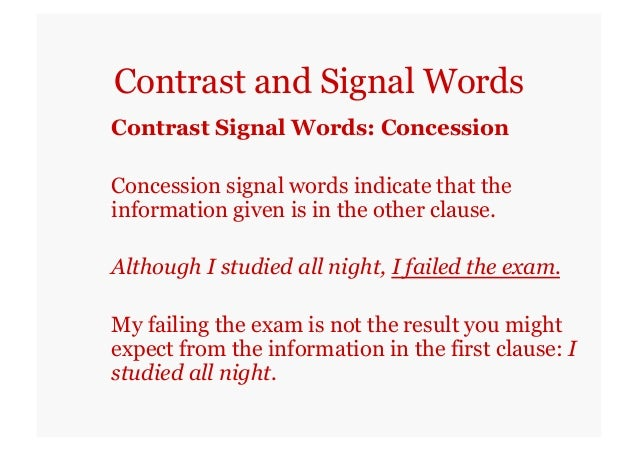 compare and contrast essay signal words Compare and contrast signal words click herecompare and contrast signal words state of washington looking for someone to.