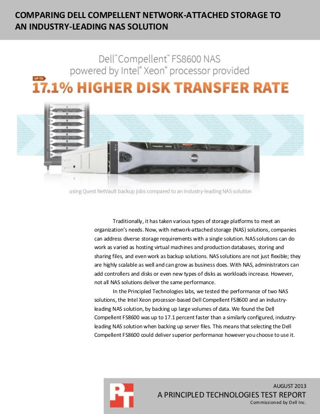 DELL EQUALLOGIC PS6110XS ENTERPRISE VDI PERFORMANCE AND POWER USAGE NOVEMBER 2012 A PRINCIPLED TECHNOLOGIES REPORT Commiss...