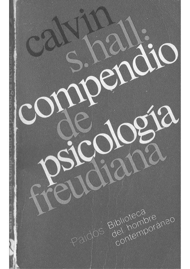 ',    COMPENDIO DE  PSICOLOGIA FREUOIANA