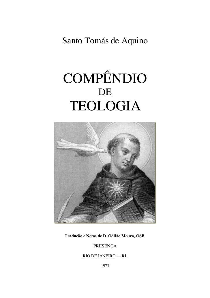 Compendio de teologia_de_santo_tomas_compendium_theologiae