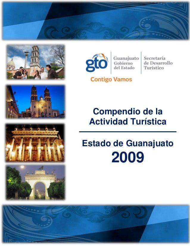 Compendio de la Actividad Turística Estado de Guanajuato 2009
