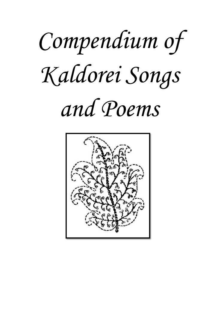Compendium ofKaldorei Songs  and Poems