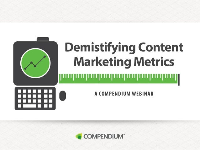 Demystifying Content Marketing Metrics