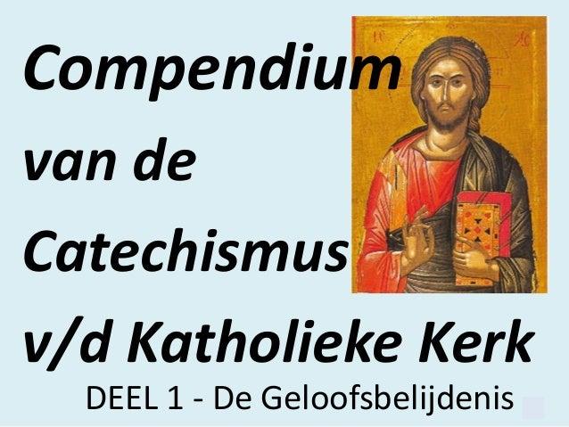 Compendium, de geloofsbelijdenis
