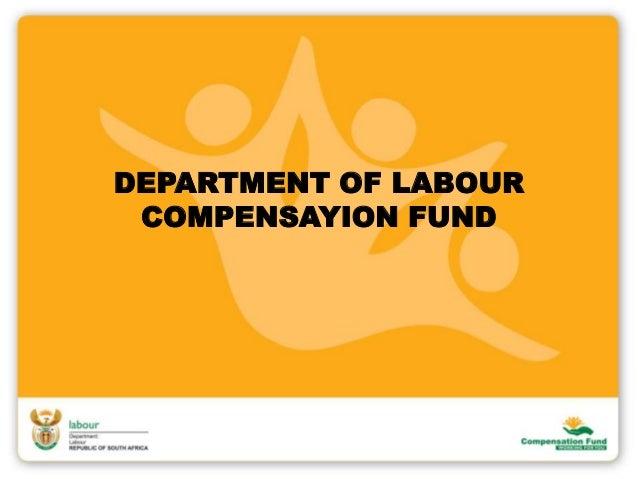 Compensation fund 2013 august
