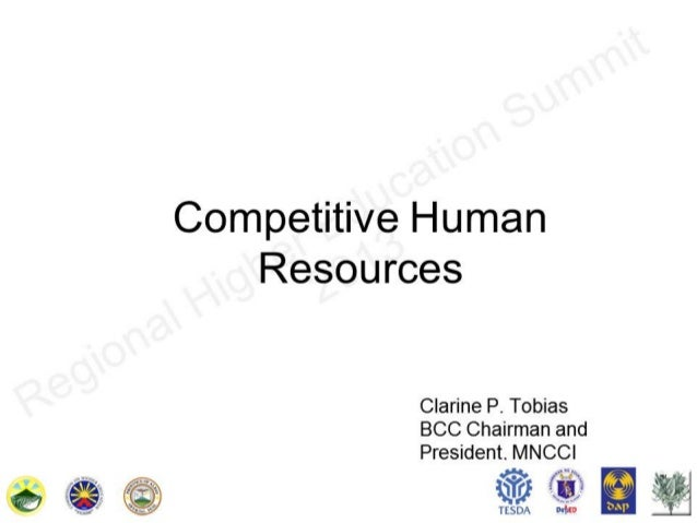 Competative human resources