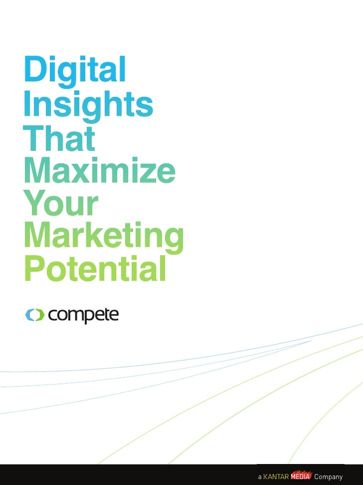 DigitalInsightsThatMaximizeYourMarketingPotential