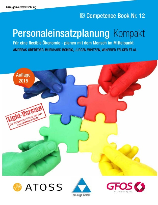 Competence Book Nr. 12 ANDREAS OBEREDER, BURKHARD RÖHRIG, JÜRGEN WINTZEN, WINFRIED FELSER ET AL. Auflage 2015 Personaleins...