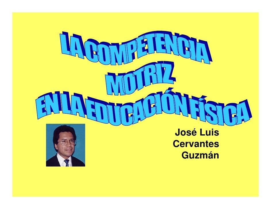 José Luis Cervantes  Guzmán