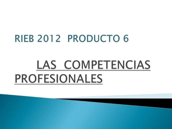 RIEB 2012 PRODUCTO 6