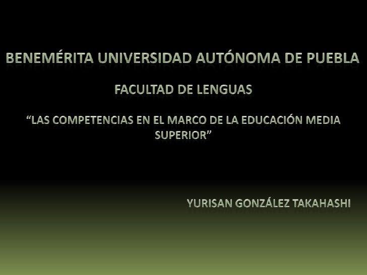 Reforma Integral de la Educación Media Superior (RIEMS).Su intención principal es elevar el nivel de         Creación de u...