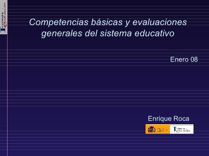 Competencias  Y Evaluacion Ene08 Merida