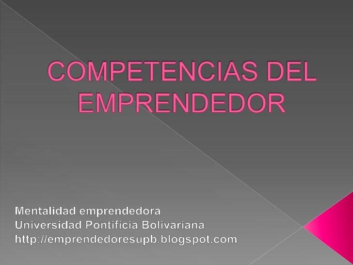 Las competencias se definen como un conjunto de      propiedades o características que posee una persona     para realiza...