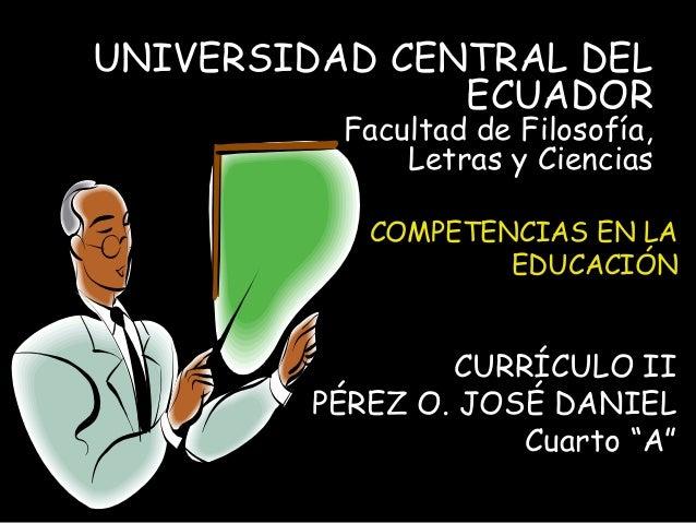 Competencias en la educacion