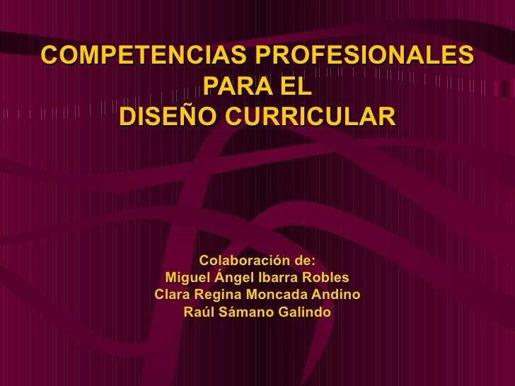 Competencias Profesionales Acciones