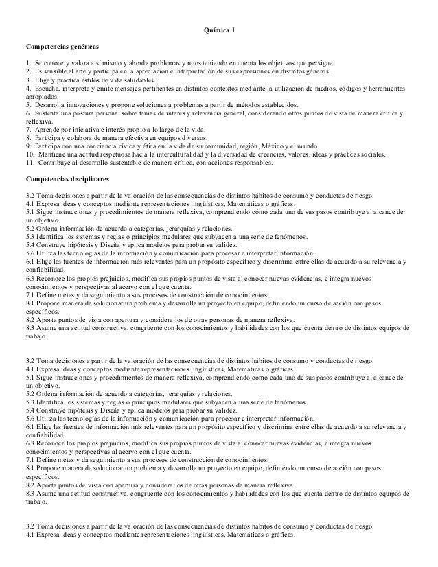 Competencias Química 1